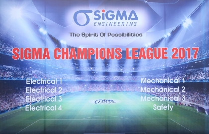 Opening ceremony of the Sigma Champions League 2017