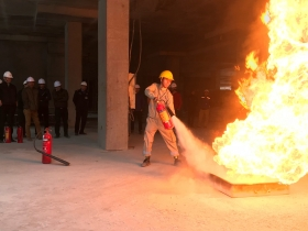 Sigma implemented Fire Protection training program at FLC Twin Towers project