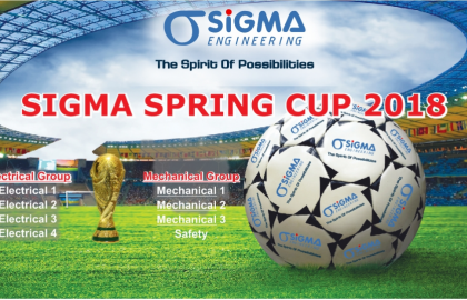 Officially opened the Sigma Spring Cup 2018 tournament