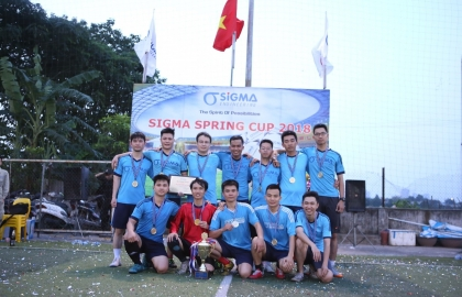 "The Final of Sigma Spring Cup 2018 – The ""dream"" confrontation between M & E"