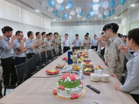 Sigma celebrates the birthday party for staff in July - The beauty of corporate culture