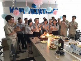 Sigma and the September birthday party for staff: Tighten the spirit of internal solidarity