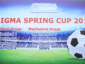 Sigma Spring Cup 2019 football tournament officially opened