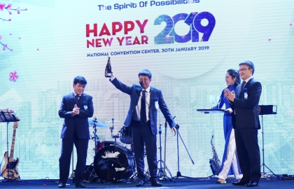 Year-end party 2018 at Sigma – The meeting day of union members