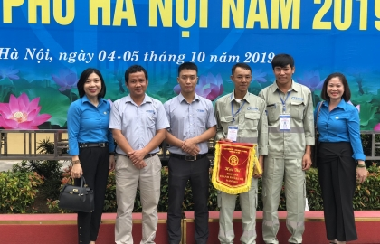 Closing of Hanoi Skilled Workers Contest 2019: Sigma worker excellently won the prize of talented hands
