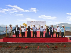 Topping-out ceremony of Marriott Courtyard & Marriott Executive Danang - Sigma's