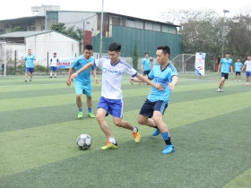 The second round of Sigma Spring Cup 2020 football tournament