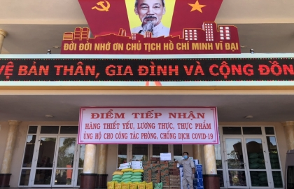The fight against Covid -19 - Million hearts towards Da Nang