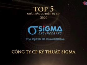 Sigma continues to be awarded the TOP 5 M&E Contractor 2020