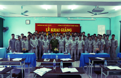 The opening ceremony of FPF and Rescue course of Sigma Engineering JSC