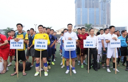 Sigma successfully came to the Daikin Cup 2016 final rounds