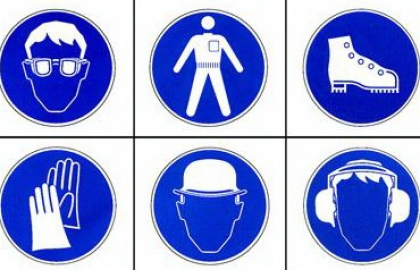 Labor personal protective equipment (PPE) at Sigma