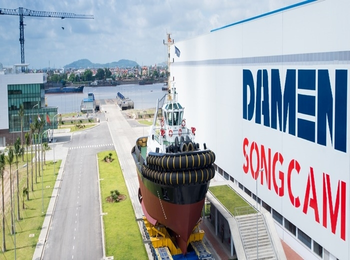 Damen Song Cam Shipyard