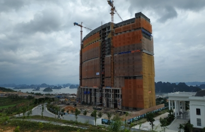 The execution of M&E system at FLC Ha Long project in the 28th week