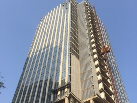 Updated progress at MB Grand Tower in the 13th week