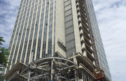 Updated progress at MB Grand Tower project in the 24th week