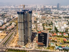 Updated progress at Wyndham Soleil Da Nang project in the 25th week