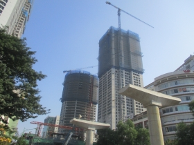 The M&E progress of FLC Twin Towers project at the end of the year