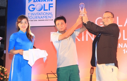 "Sigma got high-ranking at ""Daikin Golf Invitational Tournament"""