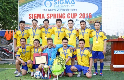 Sigma Spring Cup 2016 closed with the win of E2